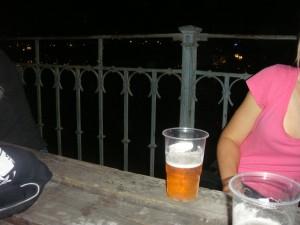Letenske Sady beer garden