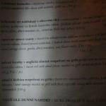 boudoir FOOD menu
